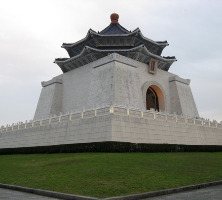 Tchang Kai Chek Monument in Taipei